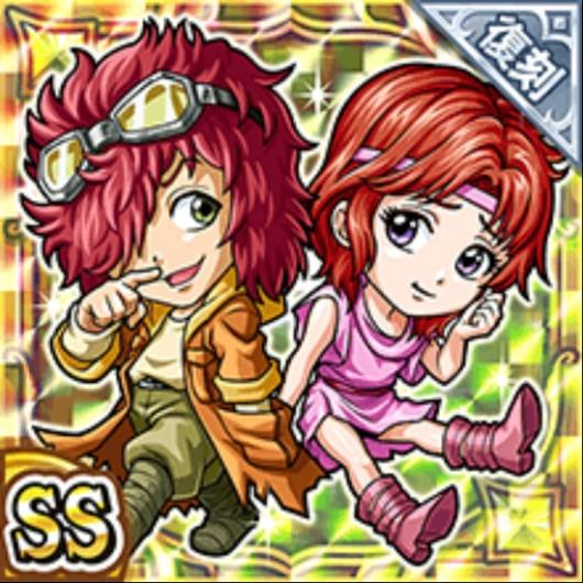 バット&リン(復刻)(雷属性・ダブルスーパーレアカード)