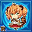 珍妙少女ポンコ(水属性・レアカード)