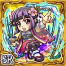 刀乱舞アキヒメ(雷属性・スーパーレアカード)