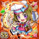 炎技調理士リオ(火属性・ダブルスーパーレアカード)