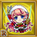 クリスマスルルクモ(雷属性・レアカード)
