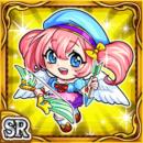 弓愛少女ピモモ(雷属性・スーパーレアカード)