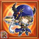 角獣槍士ユタ(火属性・レアカード)
