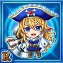 重斧海賊キャルド(水属性・レアカード)