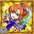舞踏剣姫カロメン(雷属性・スーパーレアカード)