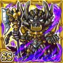 暗黒騎士キバ(雷属性・ダブルスーパーレアカード)
