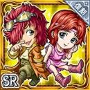 バット&リン(復刻)(雷属性・スーパーレアカード)